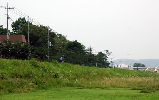 多摩川サイクリングロード 立川市