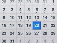 iPhone OS 3.0でカレンダーが重複する問題