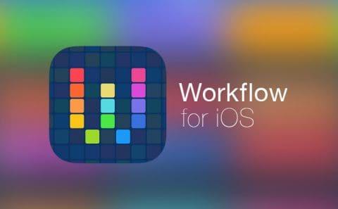 iOSの作業自動化『Workflow』のワークフローまとめ