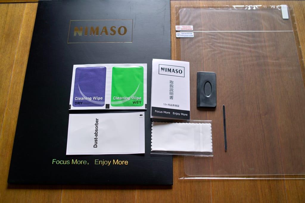 M1 MacBook Air用アンチグレア(低反射)液晶保護フィルム(NIMASO)
